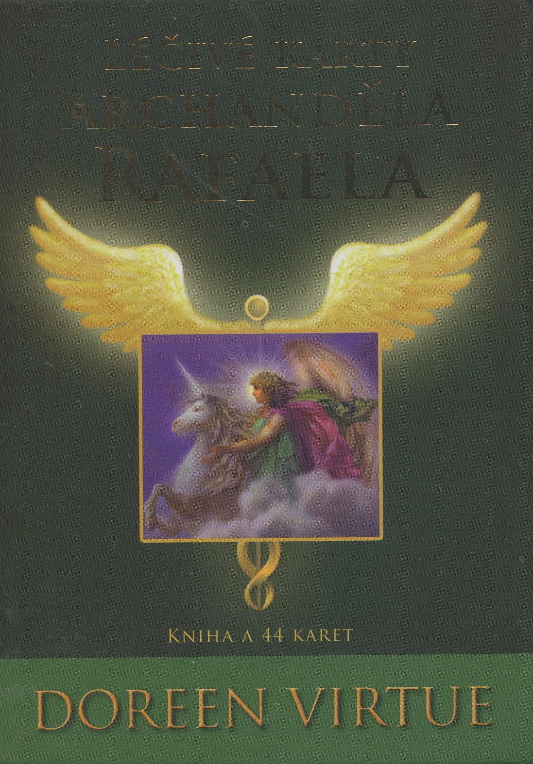 Léčivé karty archanděla Rafaela - Kniha a 44 karet