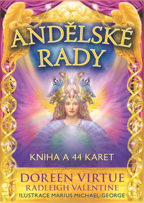 Andělské rady - Kniha a 44 karet