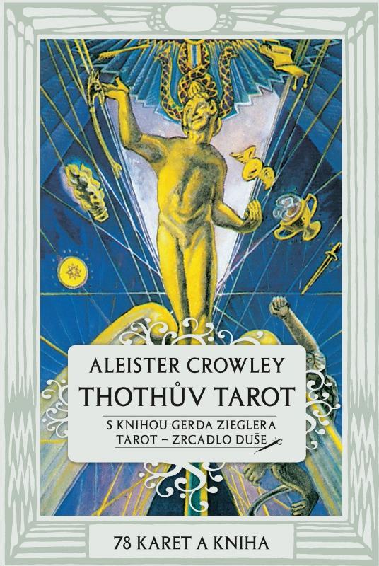 Thothův Tarot - Zrcadlo duše - Kniha a 78 karet