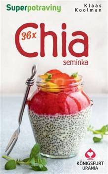 36x Chia semínka - Karty pro zdraví