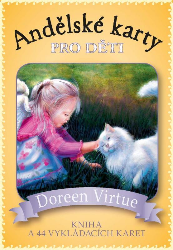 Andělské karty pro děti - kniha a 44 vykládacích karet
