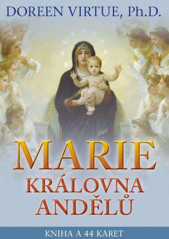 Marie, královna andělů - Kniha a 44 karet