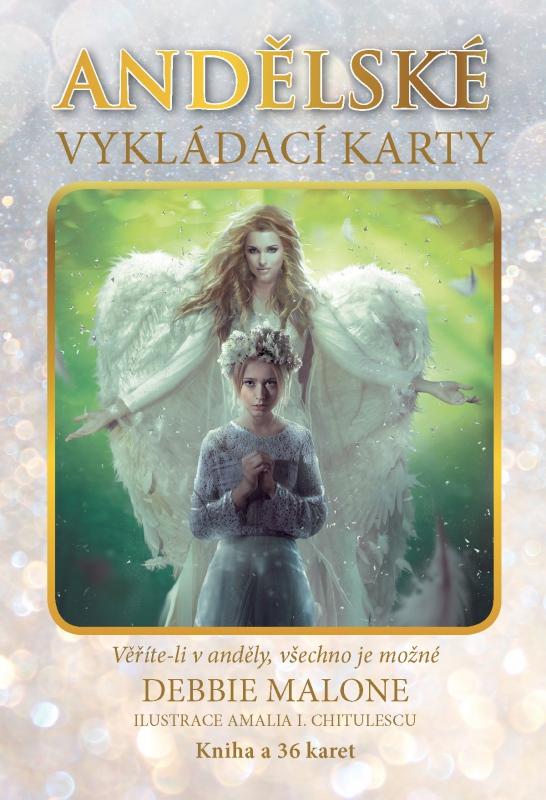 Andělské vykládací karty. Věříte-li v anděly, všechno je možné - Kniha a 36 karet