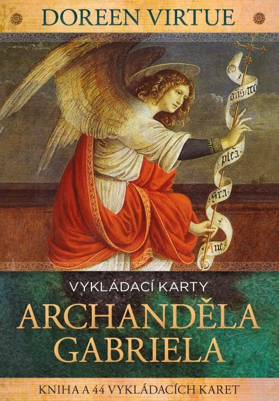 Vykládací karty archanděla Gabriela - kniha a 44 vykládacích karet