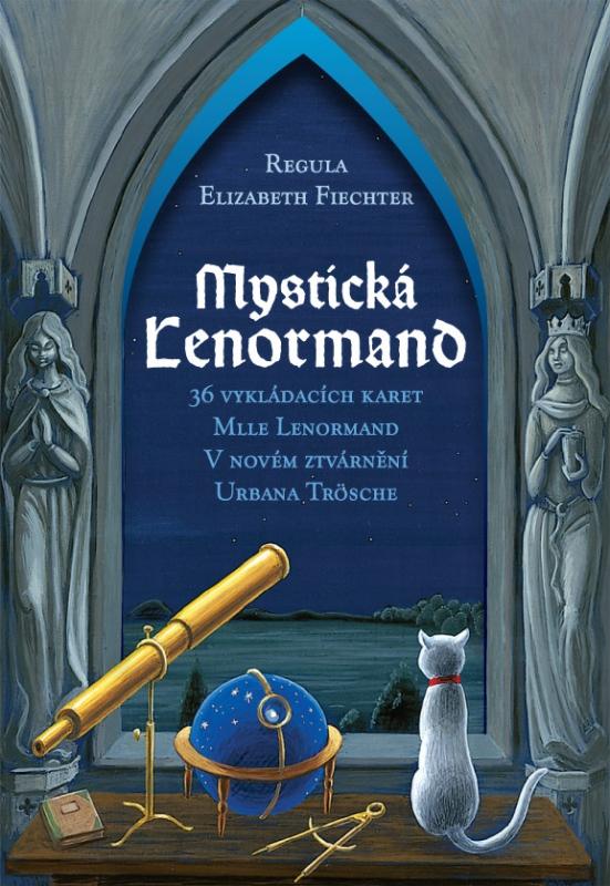 Mystická Lenormand - Kniha a 36 vykládacích karet