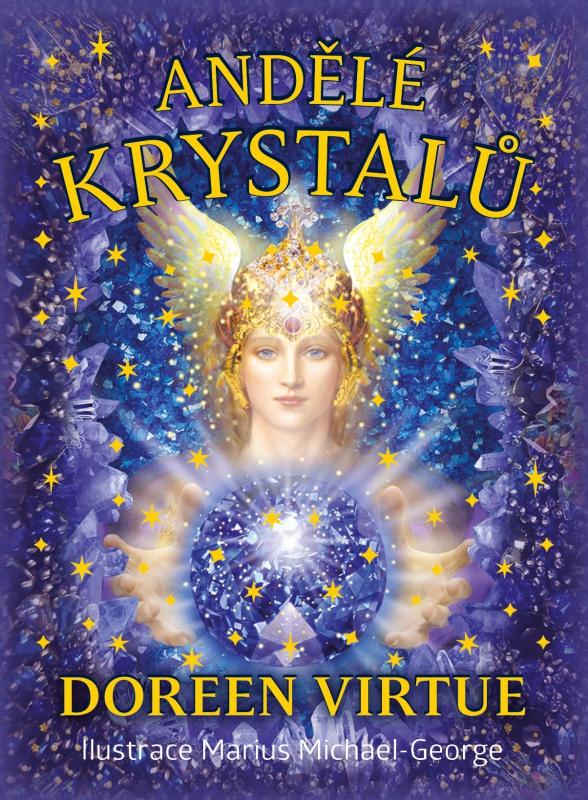 Andělé krystalů - Kniha a 44 karet