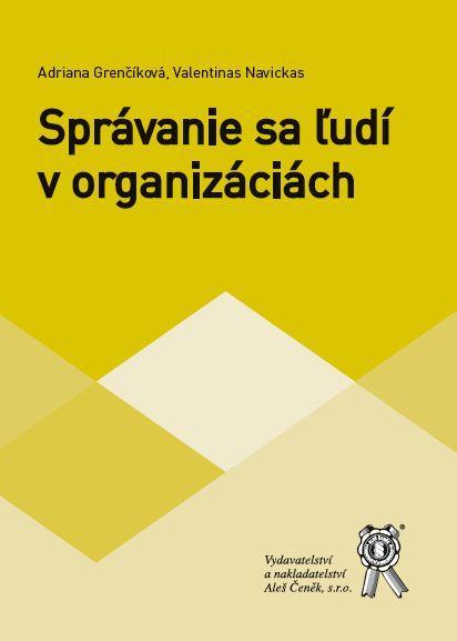 Správanie sa ľudí v organizáciách