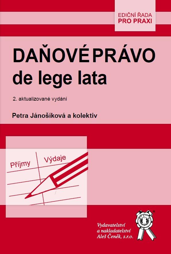 Daňové právo de lege lata - 2. aktualizované vydání