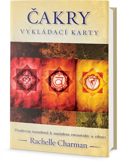Čakry - Vykládací karty (1x kniha, 1x pouzdro, 1x sada karet) - Pradávná moudrost k nastolení rovnováhy a zdraví