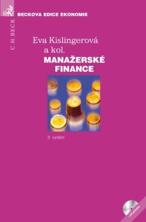 Manažerské finance - 3. vydání