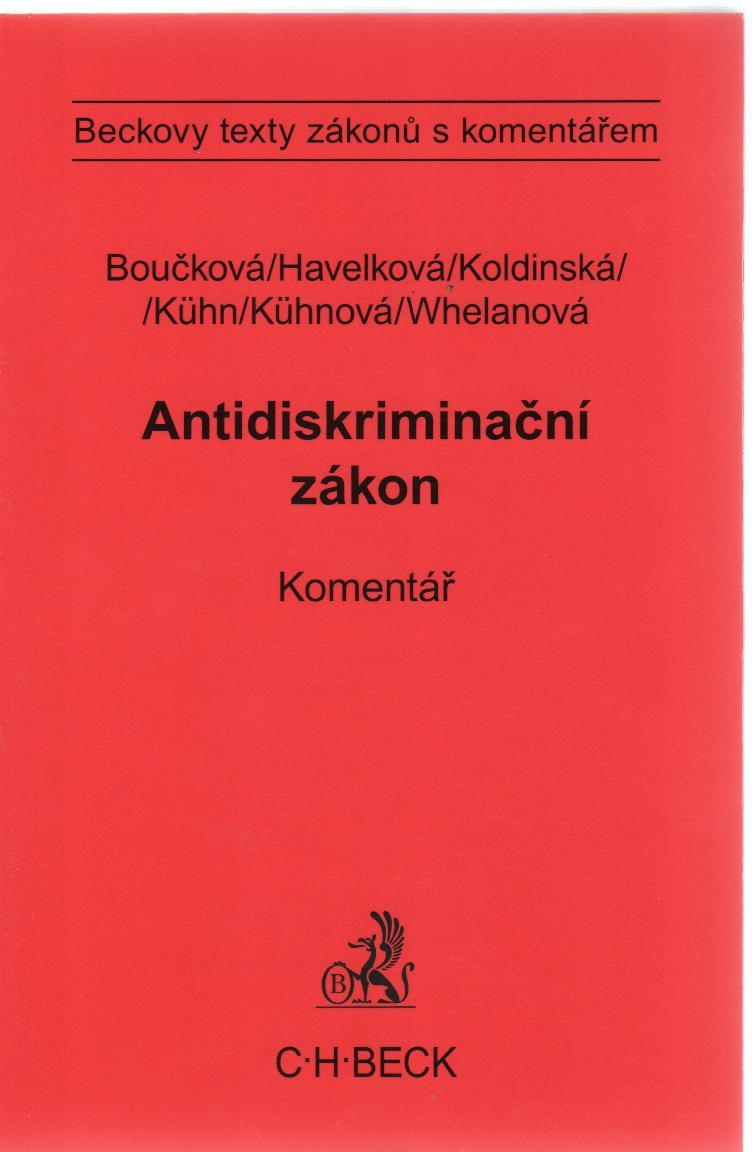 Antidiskriminační zákon - Komentář