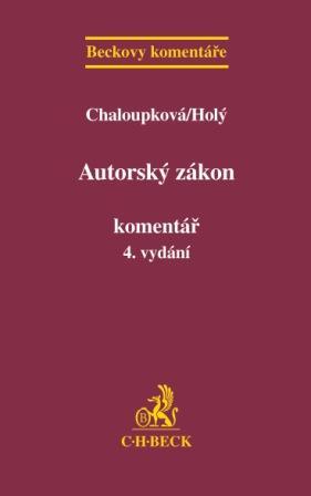 Autorský zákon - Komentář, 4. vydání