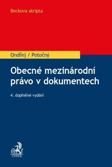 Obecné mezinárodní právo v dokumentech, 4., doplněné vydání
