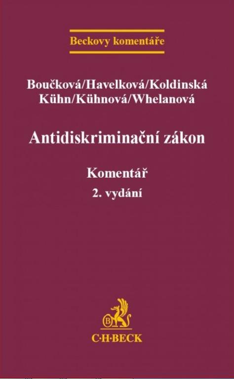 Antidiskriminační zákon - Komentář, 2. vydání