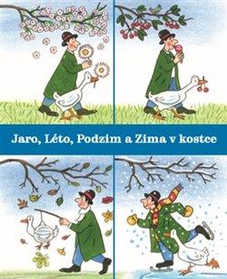 Jaro, Léto, Podzim a Zima v kostce (4x kniha, 1x pouzdro)
