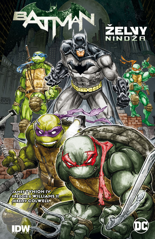 Batman: Želvy nindža (brož.)