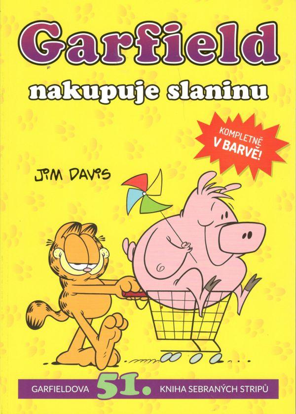 Garfield nakupuje slaninu - Garfieldova 51. kniha sebraných stripů