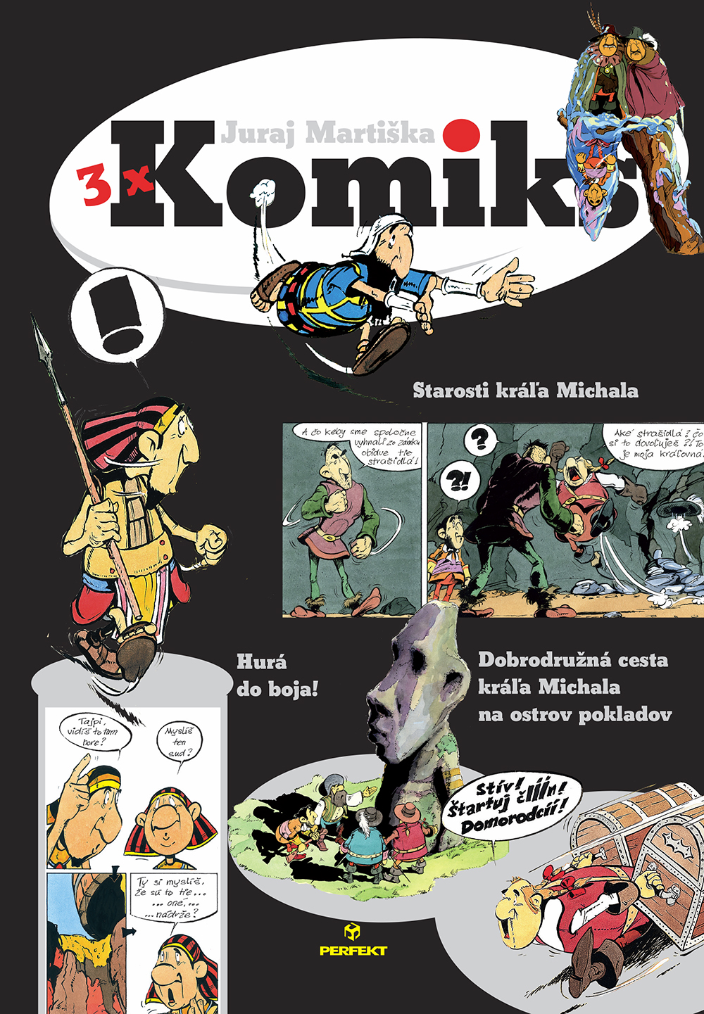 3x Komiks