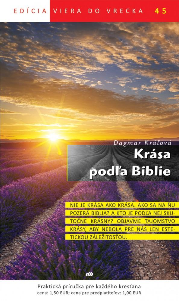 Krása podľa Biblie - Viera do vrecka 45