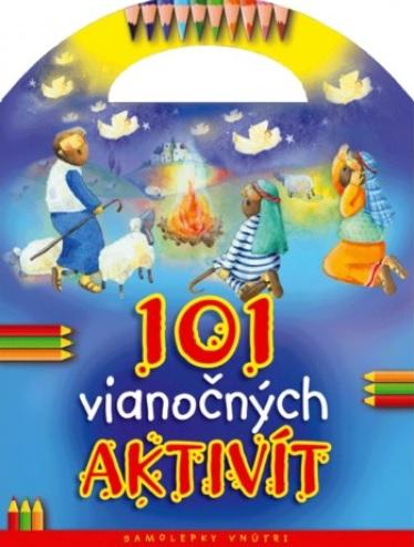 101 vianočných aktivít - Kniha so samolepkami