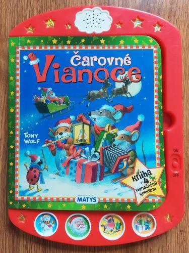 Čarovné vianoce - detský tablet
