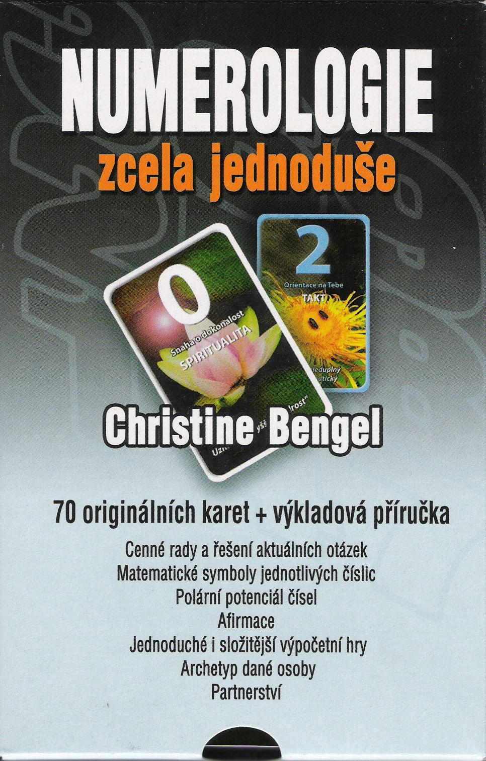 Numerologie zcela jednoduše - 70 originálních karet + výkladová příručka