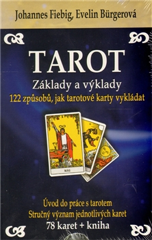 Tarot - Základy a výklady (kniha + karty) - 122 způsobů, jak tarotové karty vykládat