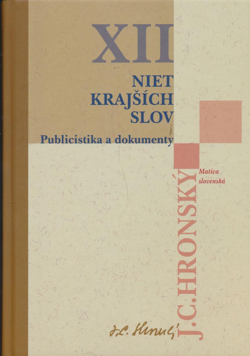 Zobrané spisy XII.