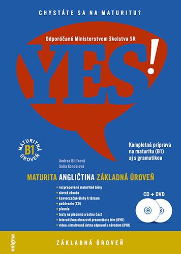 YES! Angličtina - nová maturita - základná úroveň + DVD + CD (B1)