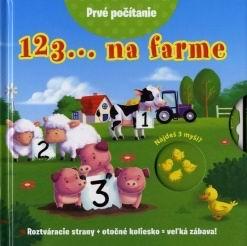 123... na farme - Roztváracia strany + otočné koliesko = veľká zábava!