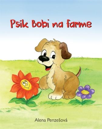 Psík Bobi na farme