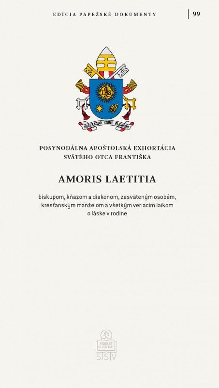 Amoris laetitia - Posynodálna exhortácia Svätého Otca Františka o láske v rodine