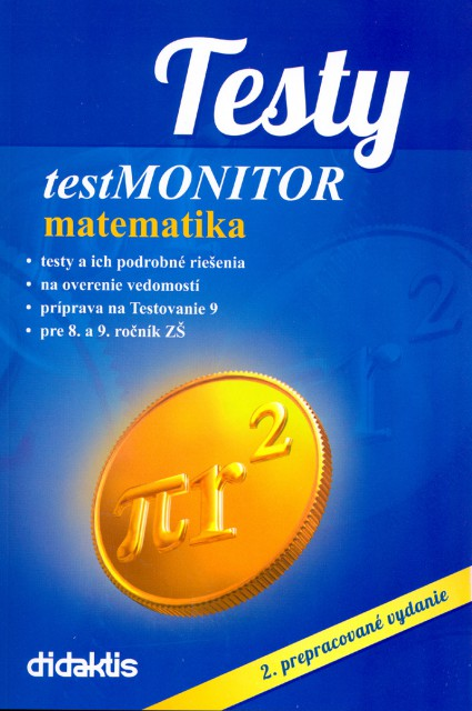 Testy testmonitor matematika - 2. prepracované vydanie
