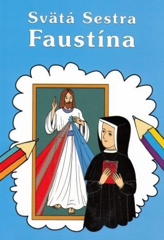 Sväta Sestra Faustína - Omaľovanka