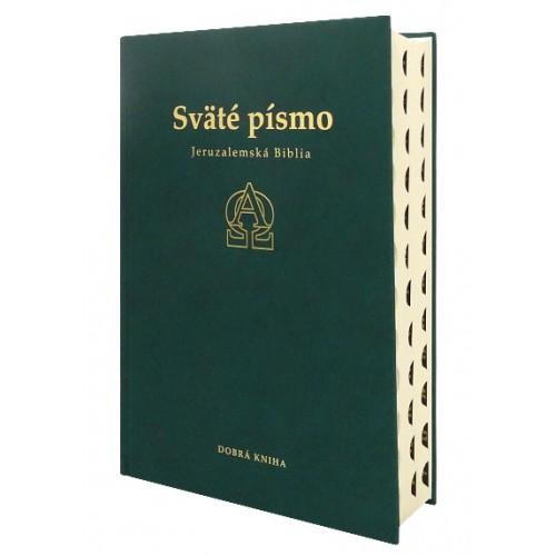 Sväté písmo - Jeruzalemská Biblia (zelená)