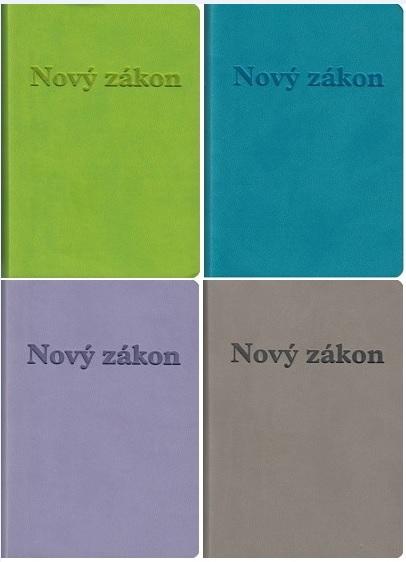 Nový zákon a Žalmy (svetlozelená, tyrkysová, fialová, sivá obálka) - vreckový formát