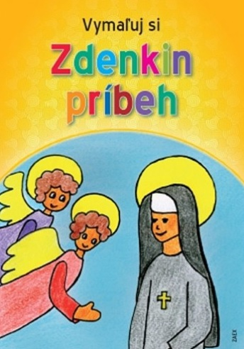 Vymaľuj si Zdenkin príbeh - maľovanka
