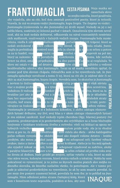 Frantumaglia - Cesta písania