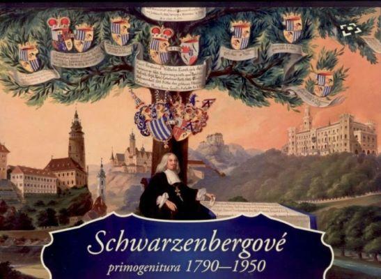 Schwarzenbergové - primogenitura 1790-1950