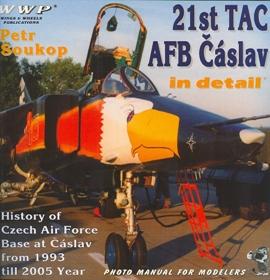 21st TAC AFB Čáslav in detail