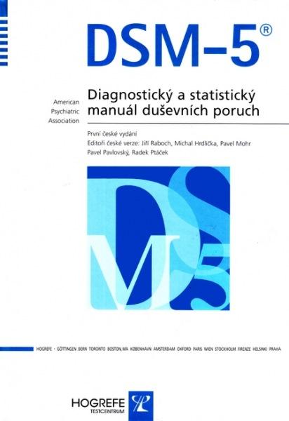 DSM - 5 - Diagnostický a statistický manuál duševních poruch