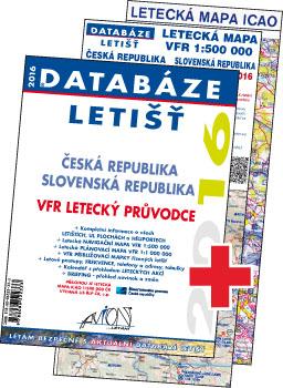 Databáze letišť 2016 - Česká a Slovenská republika / VFR letecký průvodce
