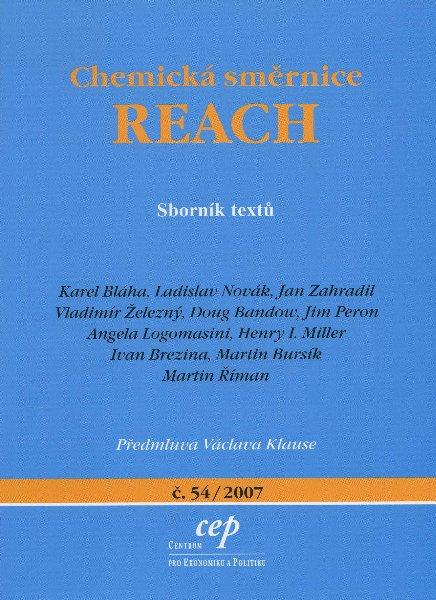 Chemická směrnice REACH - Sborník textů
