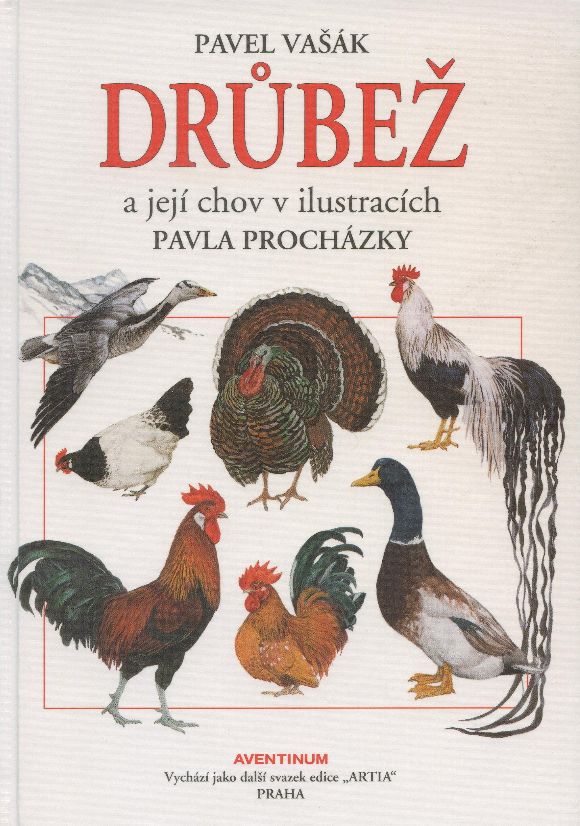 Drůbež a její chov v ilustracích Pavla Procházky