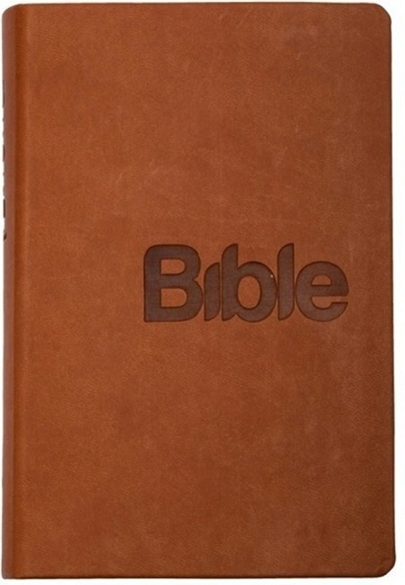 Bible (hnědá - imitace kůže)