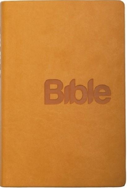 Bible (hořčicová - imitace kůže)