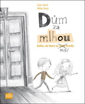Dům za mlhou - Kniha, do které se musí kreslit! + sada tužek