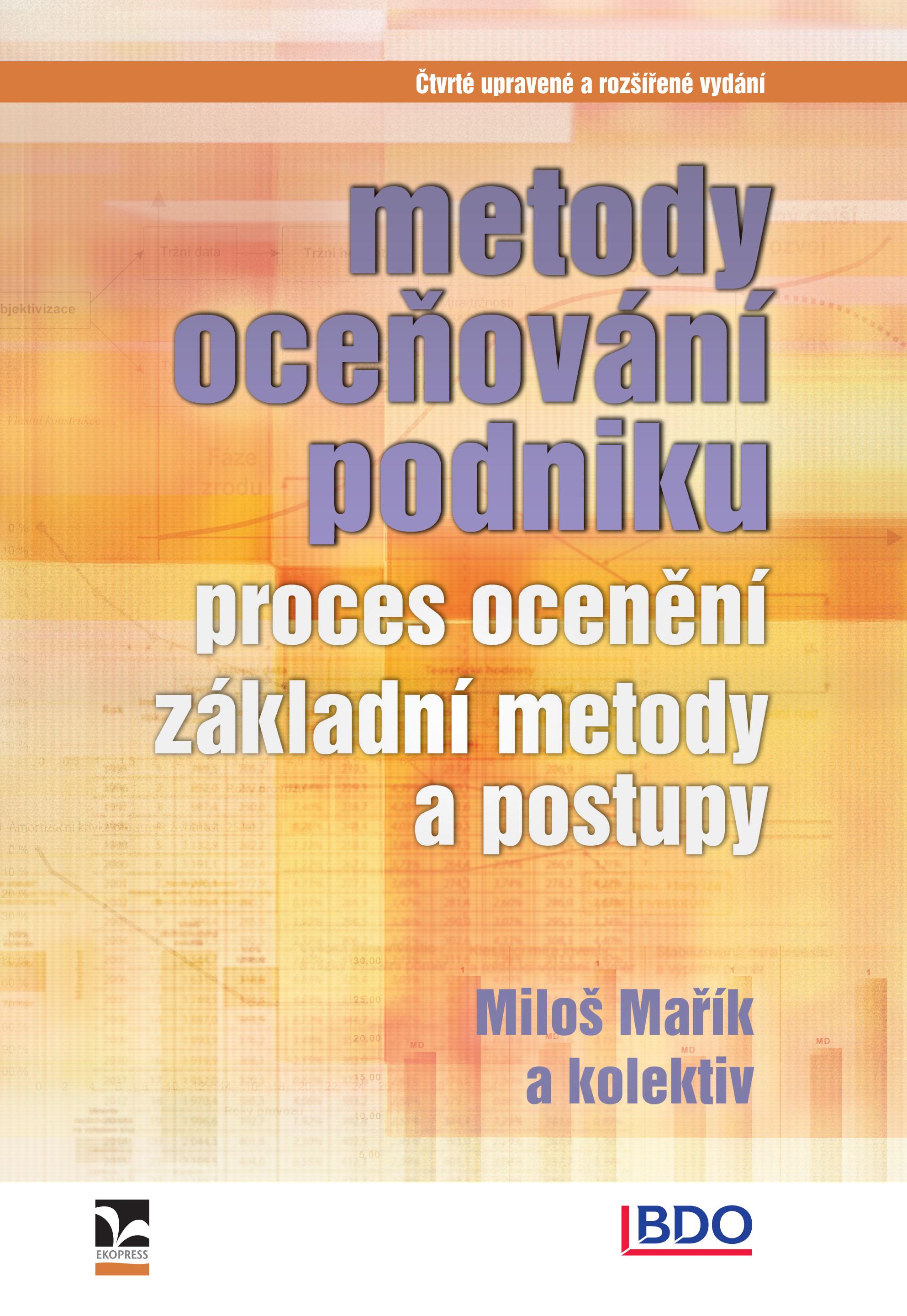 Metody oceňování podniku - Čtvrté upravené a rozšířené vydání