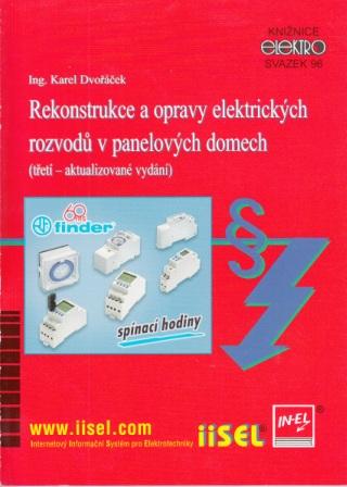 Rekonstrukce a opravy elektrických rozvodů v panelových domech (třetí – aktualizované vydání)