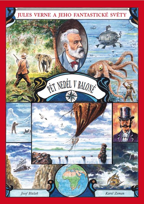 Pět neděl v baloně - Jules Verne a jeho fantastické světy
